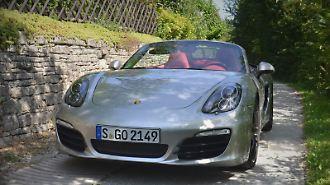 Alles etwas dynamischer: der neue Porsche Boxster S.