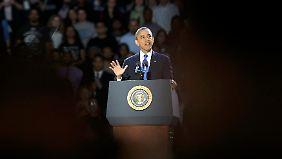 """Obamas Rede im Wortlaut: """"Wir sind eine amerikanische Familie"""""""