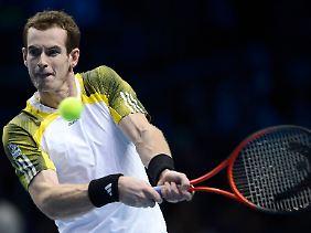 Andy Murray kämpfte bis zum Schluss, steht nun aber vor einem Endspiel gegen Jo-Wilfried Tsonga.