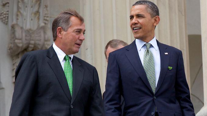 Haushaltsprobleme und Nachfolgersuche: Obama bekommt keine Atempause