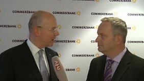 """Frank Meyer befragt Martin Blessing: """"Wir werden 1 Mrd. Euro investieren"""""""