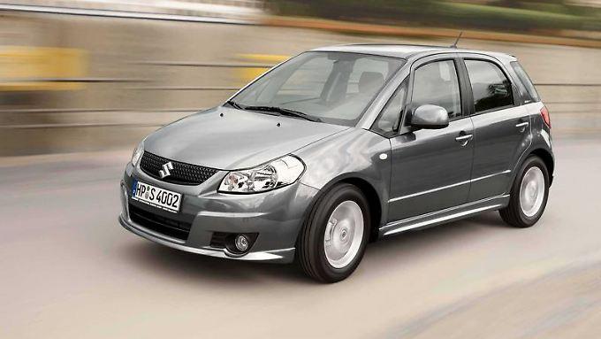 Keine Mängelschwerpunkte bekannt: Experten von TÜV und ADAC haben am Suzuki SX4 bislang kaum etwas auszusetzen.