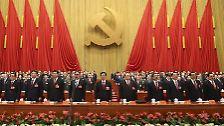 China inszeniert den Parteitag: Politik, Polizisten und Propaganda