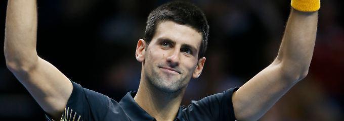 Drei Spiele, drei Siege: Novak Djokovic