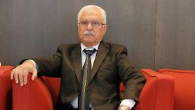 George Sabra ist Ex-Mitglied der Kommunistischen Partei Syriens.