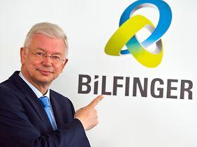 Kurzname und neues Logo: Seit September heißt Bilfinger Berger nur noch Bilfinger.
