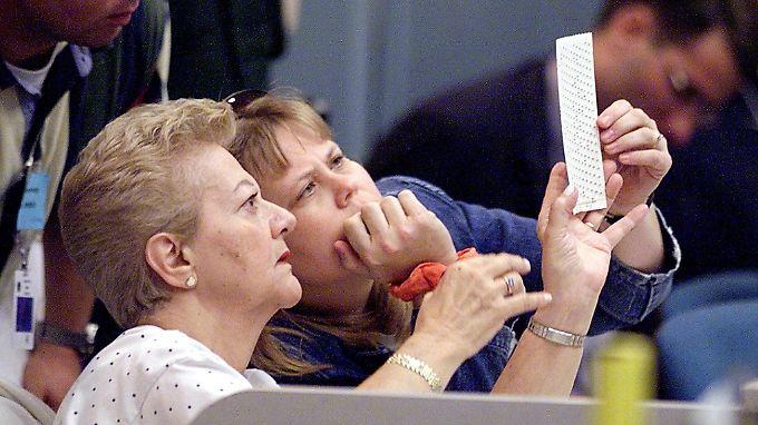 Die Auszählungen der Stimmen in Florida verzögerten sich auch schon bei früheren Wahlen.