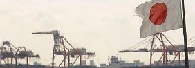 Japans Exportwirtschaft schwächelt.