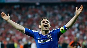 Im Mai gewann Lampard mit Chelsea die Champions League.