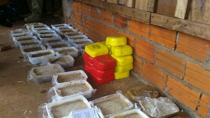 Das Kokain wurde 600 Kilometer nordöstlich der Hauptstadt Asunción entdeckt.