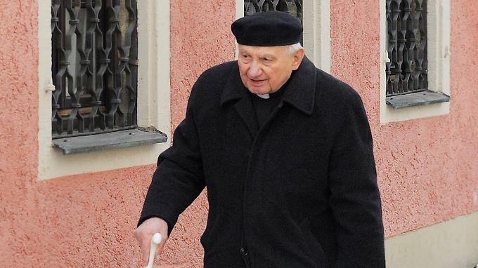 Georg Ratzinger gab 1994 sein Amt als Domkapellmeister auf.