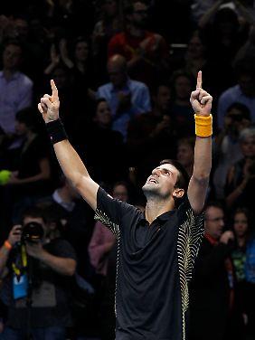 Den Titel widmete Djokovic seinem erkrankten Vater Srdjan.