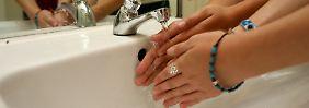 Hände sind Krankheitserreger schlecht hin.