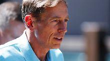 David Petraeus war Chef der CIA.