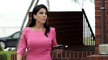 Jill Kelley verlässt ihr Haus in Tampa.