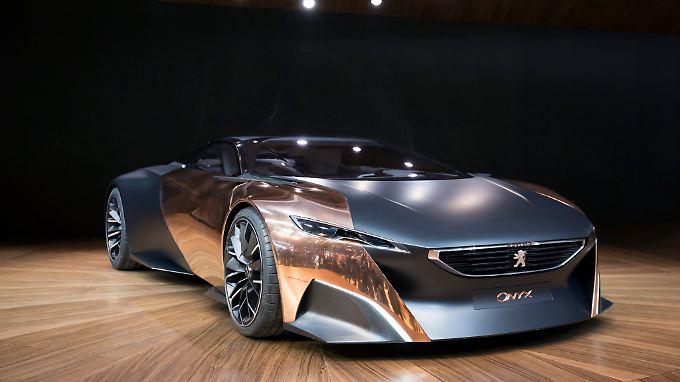 Auch das ist ein Peugeot - wenn auch eine Studie.