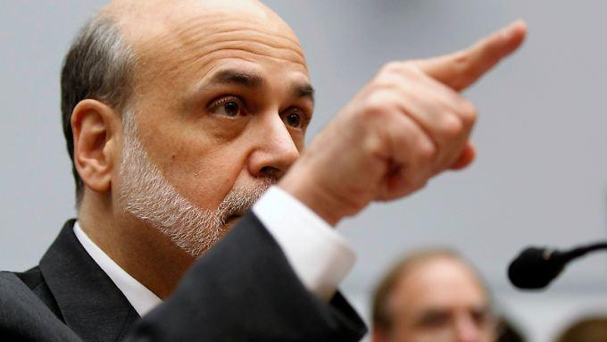 Bleibt Fed-Chef, weil Obama die Wahl gewonnen hat: Ben Bernanke. Die lockere Geldpolitik der Notenbank bleibt wohl auch.