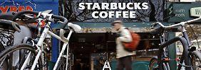 Starbucks-Filiale in London.