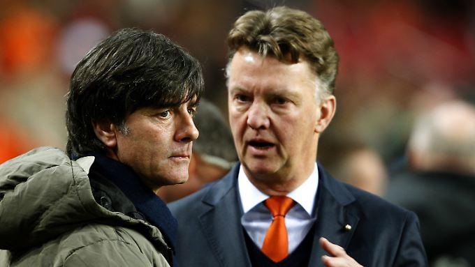 Die Teams von Joachim Löw und Louis van Gaal taten sich gegenseitig nicht weh.