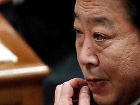 Legt ein neues Konjunkturpaket für die nachfolgende Regierung auf: Yoshihiko Noda.