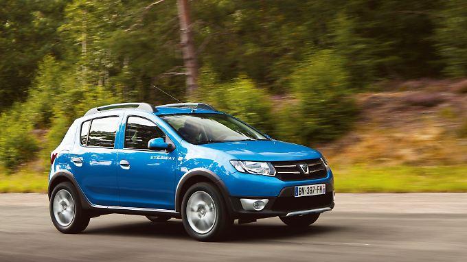 Der neue Dacia Sandero steht ab Januar 2013 bei den Händlern.