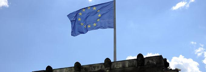 Europaflagge au