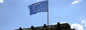 Europaflagge auf dem Reichstagsgebäude: Wie lange hält Deutschland durch?