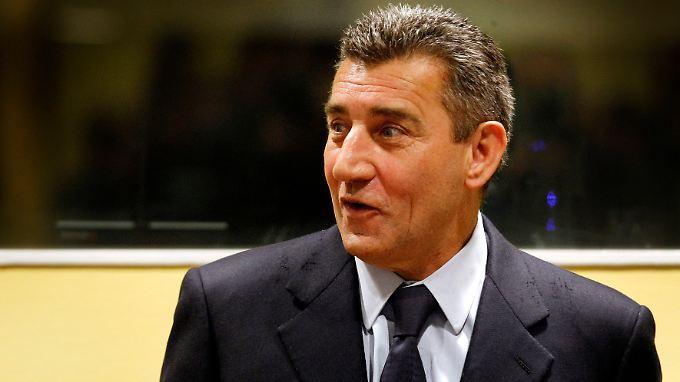 Ante Gotovina vor dem Haager Tribunal