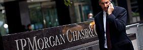 Mit einer Millionenzahlung aus dem Schneider: JP Morgan