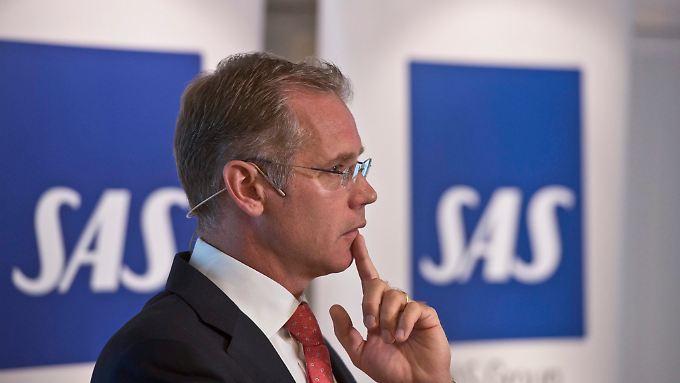 SAS-Chef Rickard Gustafson mit ultimativem Krisenplan.