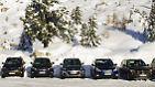 In unserem Teilnehmerfeld treten der Hyundai Santa Fe, der Lexus RX450h, der Mazda CX-7 und der Subaru Outback an. Ups, da hat sich noch der BMW X1 ins Bild geschoben. Der nimmt aber bei den kleinen SUVs teil.