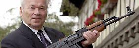 """""""Held der Russischen Föderation"""": Michail Kalaschnikow fürchtet um sein Lebenswerk."""