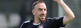 Mit an Bord: Franck Ribéry.