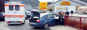 Nach einem Zusammenstoß mit einem anderen Wagen ließ der Franzose seinen Audi stehen und flüchtete zu Fuß. Wenig später wurde er gefasst.