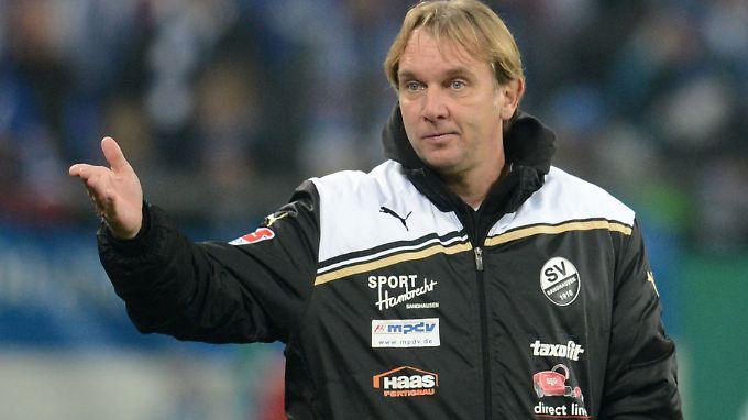 Gerd Dais stieg mit Sandhausen im Sommer erst in die Zweite Bundesliga auf.