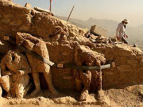 Noch ist Afghanistan für Archäologen eine Fundgrube.