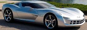 Ob die neue Corvette so aussieht wie die 2009 von Chevrolet präsentierte Studie, wird sich erst im Januar 2013 herausstellen.