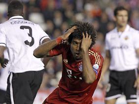 Verteidiger Dante und seine Teamkollegen taten sich schwer in Valencia.
