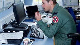Prinz William mit Schweinetasse. Darf trotzdem gezeigt werden.