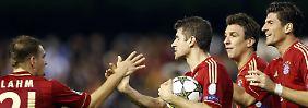 Thomas Müller verhinderte mit dem 1:1 die totale Katastrophe in Valencia.