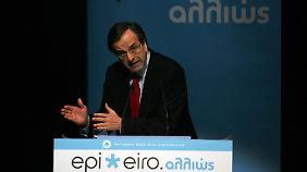 Der griechische Ministerpräsident Antonis Samaras will, dass Zusagen eingehalten werden.