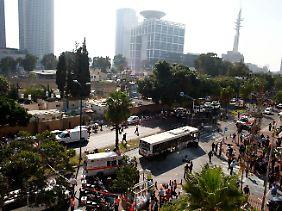 Die Explosion fand in der Nähe des Verteidigungsministeriums statt.