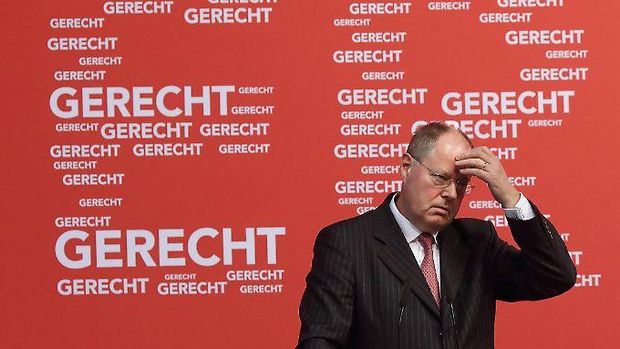 Steinbrück wird sehr genau beobachtet.