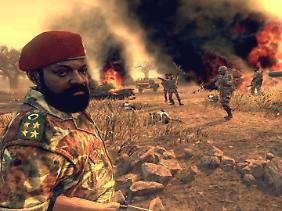 "Jonas Savimbi begegnet dem Spieler in ""Call of Dury: Black Ops 2"" zu Beginn der Kampagne."