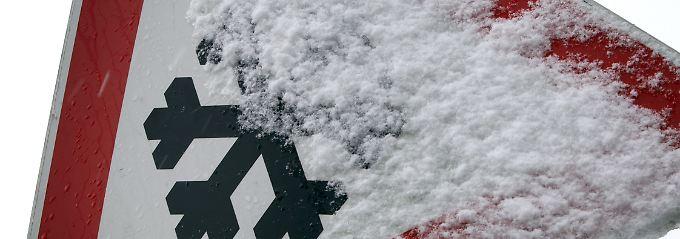 Warnung vor Schneeglätte ist berechtigt.