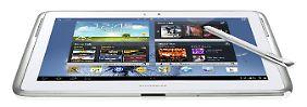 Test: Apple nicht erste Wahl: Samsung zeigt iPad Grenze