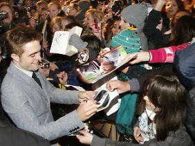 Kreisch!!! Robert Pattinson bei der Deutschlandpremiere in Berlin.