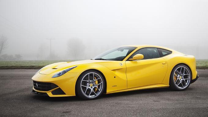 Wer den getunten Ferrari F12 Berlinetta fahren möchte, muss tief in die Tasche greifen.