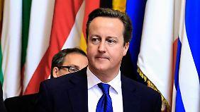 Streit um EU-Haushalt: Cameron droht mit einem Veto