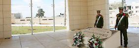 Arafats Mausoleum in Ramallah.
